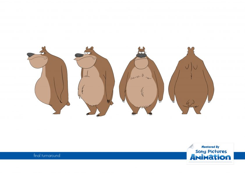 Animation Base Camp, Bear -- Final Turnaround
