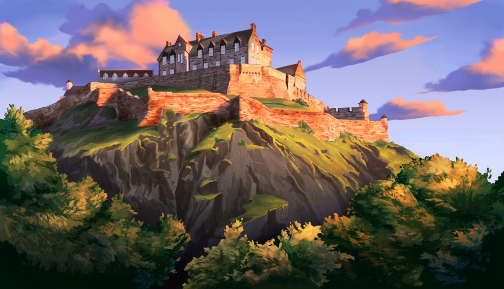 Scotland Loves Anime, Castle